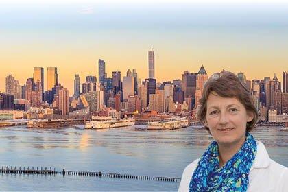 New York und der Hudson