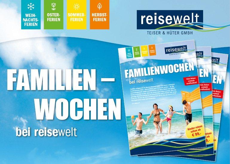 News Familienwochen bei reisewelt