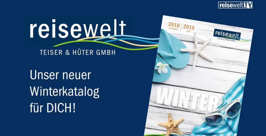reisewelt Winterkatalog 2018/19 im Druck