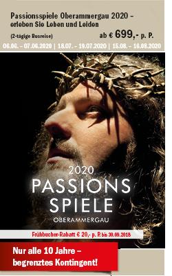 Passionsspiele Oberammergau 2020