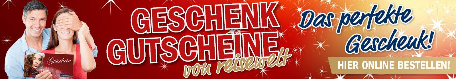 Banner Geschenkgutschein