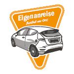 Logo, PKW-Eigenanreise