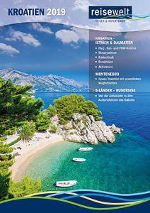 Kroatien-Katalog 2019 Titel