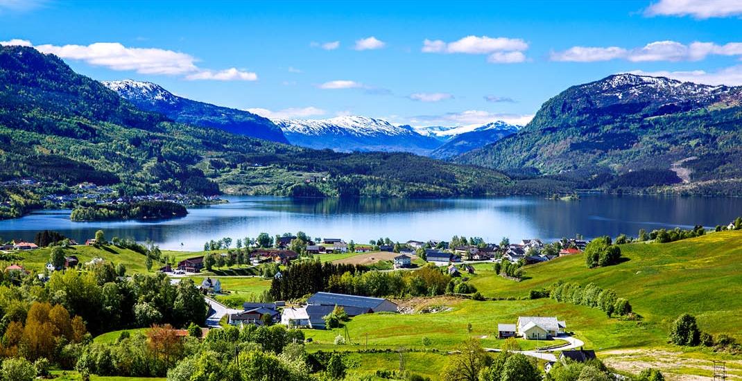 Wunderwelt der Fjorde_