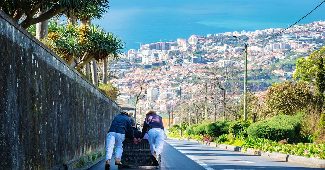 MSC Magnifica_Korbschlitten in Funchal